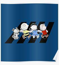 Peanuts Gang Poster