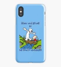 The Road to Adventure! iPhone Case