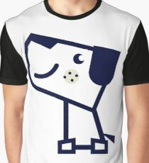 Cute dog contemporary Design Graphic T-Shirt
