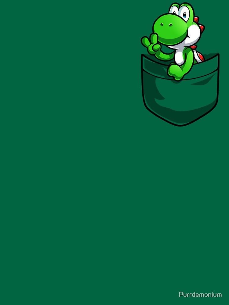 Tasche Yoshi T-Shirt von Purrdemonium