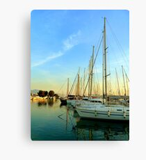 Sailing in Greece Canvas Print