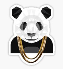 Designer Panda Sticker