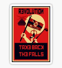 Revolution! Take Back the Falls Sticker