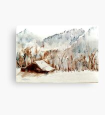 Cold Cove Canvas Print