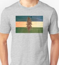 The Doug Flag on Cedar T-Shirt