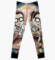Truth Or Consequences Leggings