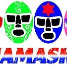 Lucha Mask Line by luchamaskusa