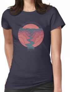 Canyon River Womens Fitted T-Shirt