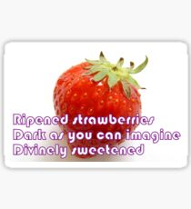 Ripened Strawberries Sticker