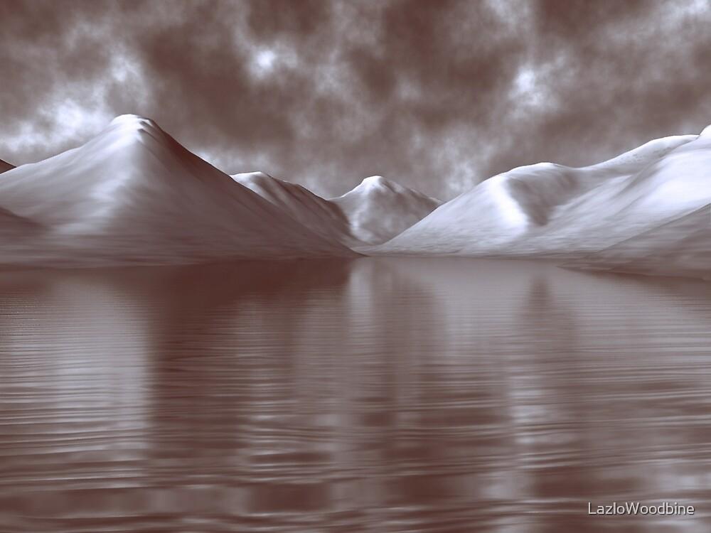Wastwater Digital Painting by LazloWoodbine