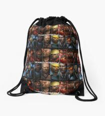 TF2 Red vs Blue Drawstring Bag