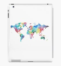 Watercolor Map iPad Case/Skin