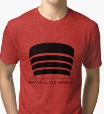 Frank Lloyd Wright Logo Tri-blend T-Shirt