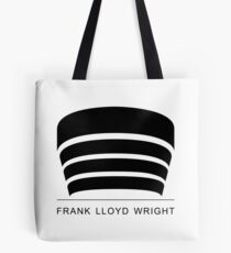 Frank Lloyd Wright Logo Tote Bag