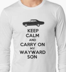 Keep Calm and Carry On My Wayward Son T-Shirt