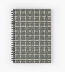 Angular Tiling Spiral Notebook