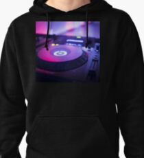 House dance music dj deejay turntable mixing desk nightclub party Ibiza Pullover Hoodie