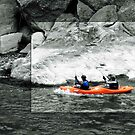 Kayaking on the Potomac by Bine