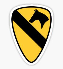 1st Cavalry Division Sticker
