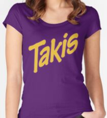 Takis chips  Women's Fitted Scoop T-Shirt