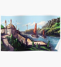 River Temple Poster