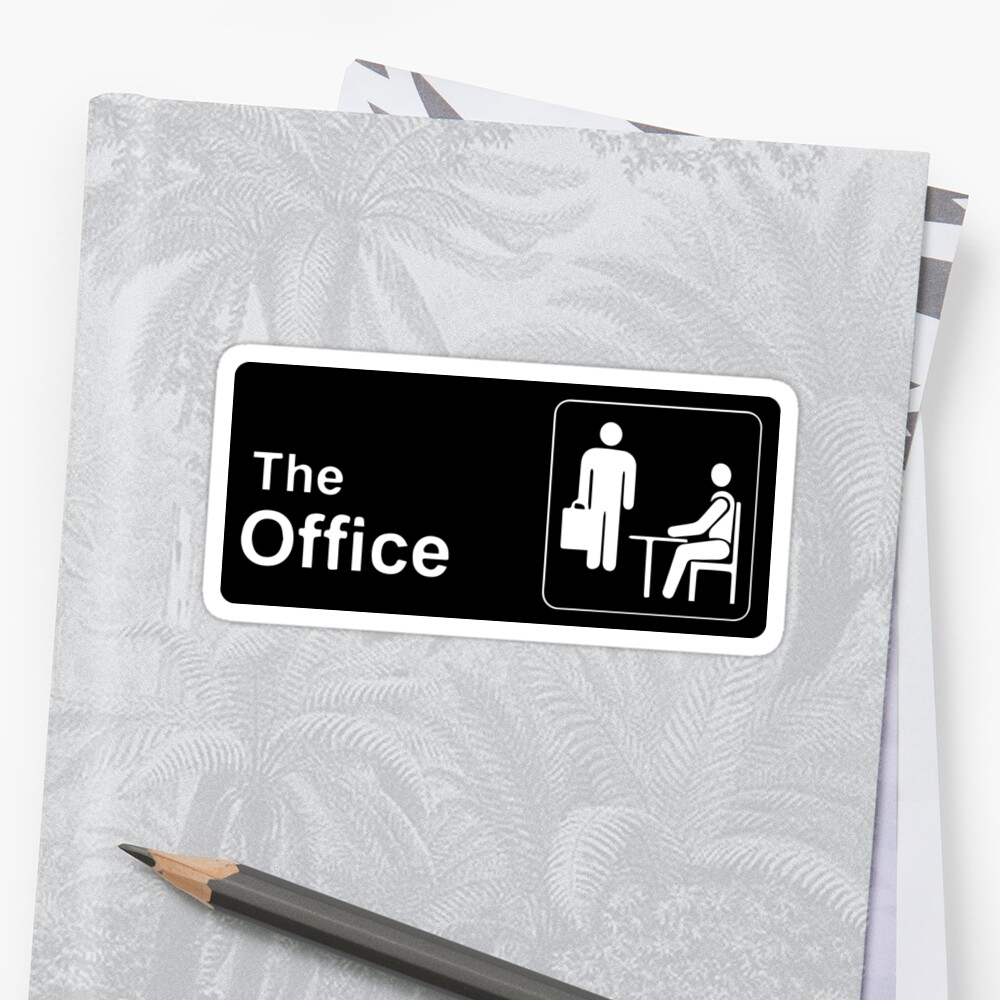 Quot The Office Sticker Quot Stickers By Lauren Glynn Redbubble
