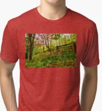 Fresh and Colorful Hillside - Impressions Of Spring Tri-blend T-Shirt