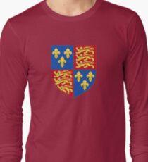 Henry V - Royal Arms of England (1399-1603) Long Sleeve T-Shirt