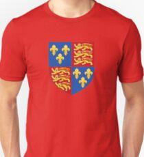 Henry V - Royal Arms of England (1399-1603) Unisex T-Shirt