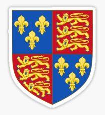 Henry V - Royal Arms of England (1399-1603) Sticker