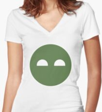 Halo ODST Superintendent - Calm Women's Fitted V-Neck T-Shirt