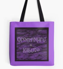 Orochimaru and kabuto Tote Bag