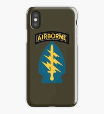 Airborne Army Special Forces Insignia iPhone Case