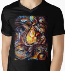 THIRD EYE - ABSTRACT Men's V-Neck T-Shirt