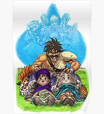 Hero, Bianca, Pankraz  and Saber Poster