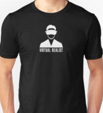 Virtual Realist - White Clean Unisex T-Shirt