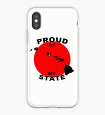Proud Of My State- Hawaii iPhone Case