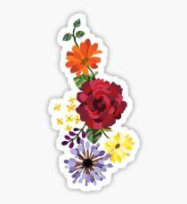 Pegatina Flores
