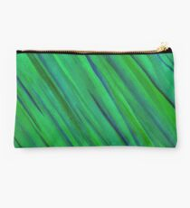 Saturn Green Studio Pouch