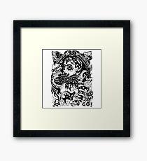 Grimes artwork Framed Print