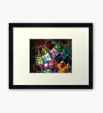 Mirrored Reflection Framed Print