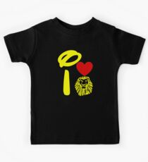 I Heart The Lion King (Gold) Kids Clothes