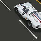 Porsche 906 Carrera by TeaCee