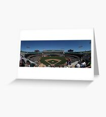 Oakland Coliseum Greeting Card
