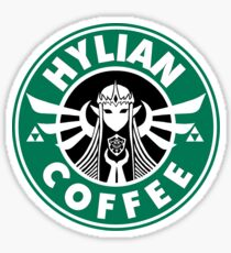 Hylian Coffee Sticker