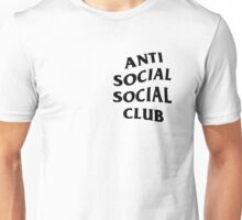 Anti Social Club Unisex T-Shirt