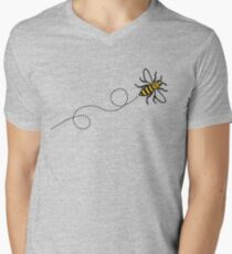 Flying Manchester Bee, Classic Edition Men's V-Neck T-Shirt