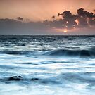 Sunset Waves by Kasia-D