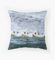 Merewether Ocean Baths Throw Pillow