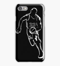 Michael Jordan - White iPhone Case/Skin